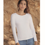 CAMISETA VALUE WEIGHT DE MUJER M/ LARGA